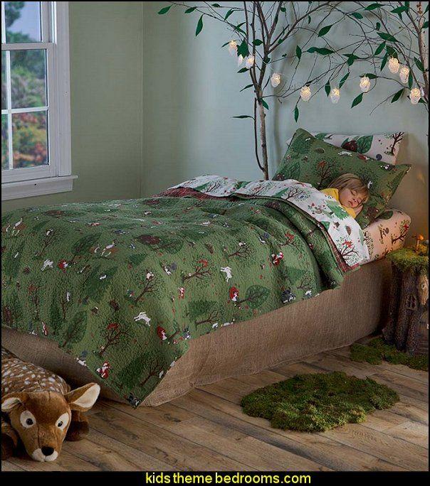 Woodland Friends Bedding Woodland Theme Bedroom Woodland Bedroom Fairy Bedroom
