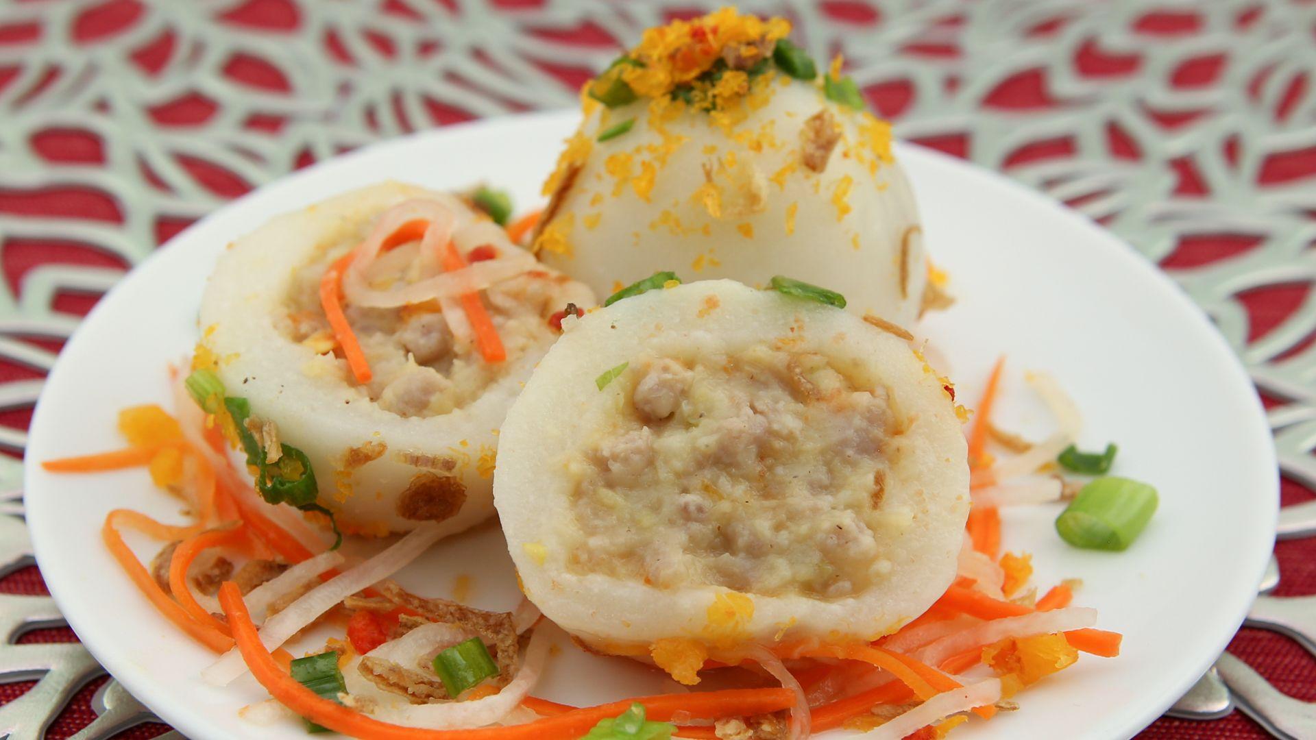 Sticky Rice Dumplings (Banh It Tran)   Recipe   Sticky ...