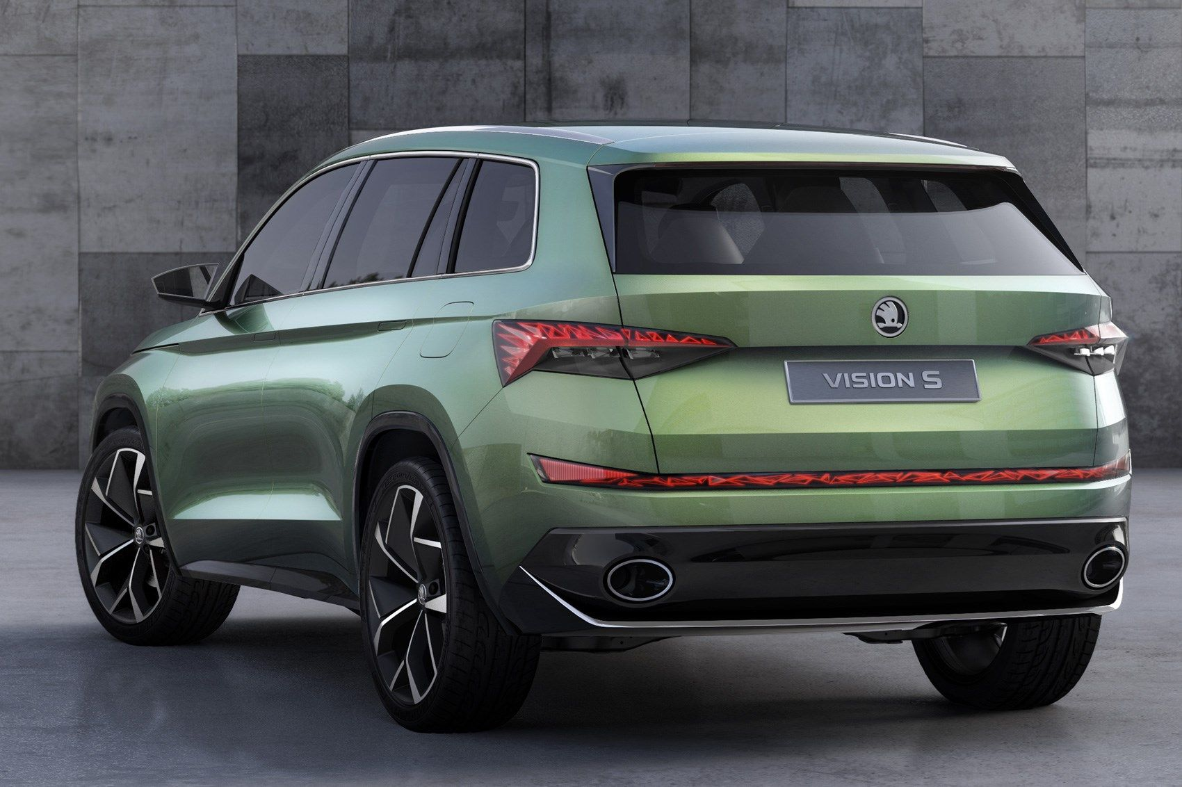 Czech This Out Six Seat Skoda Vision S Concept Unveiled By Car Magazine