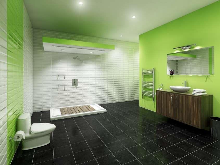 Colori Per Pareti Da Bagno : Arredare un bagno cieco bathrooms bagno