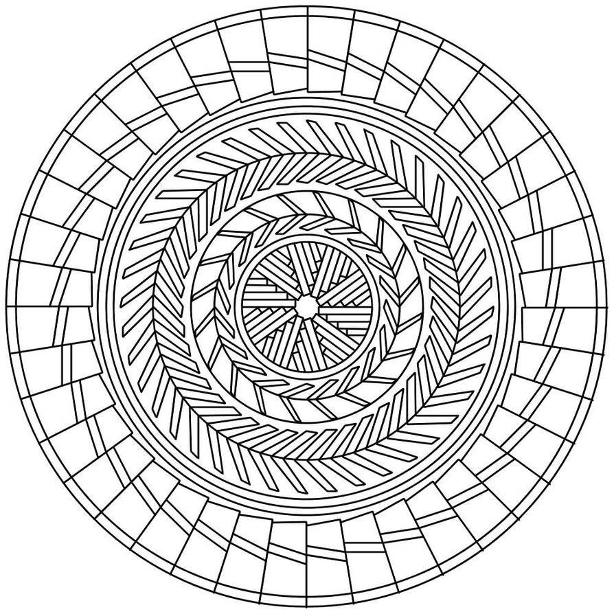 Pin By Jaap Jolanda On Mandalas In 2020 Coloring Book Pages Mandala Mandala Coloring