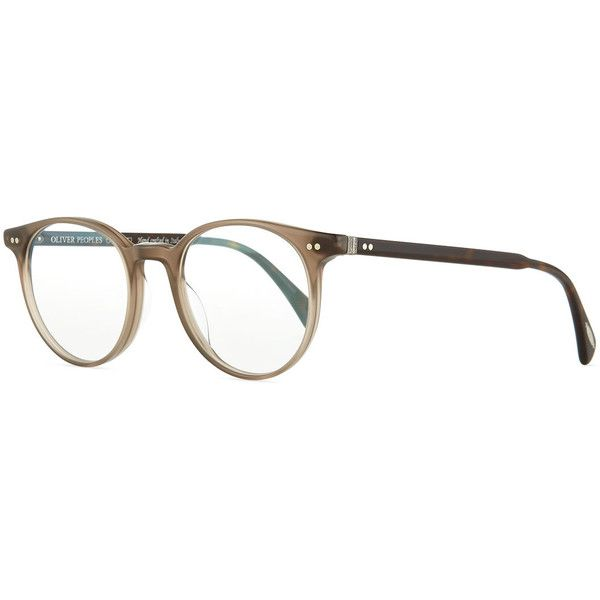 6f2e8c63b4c Oliver Peoples Delray 47 Optical Glasses ( 340) ❤ liked on Polyvore  featuring accessories