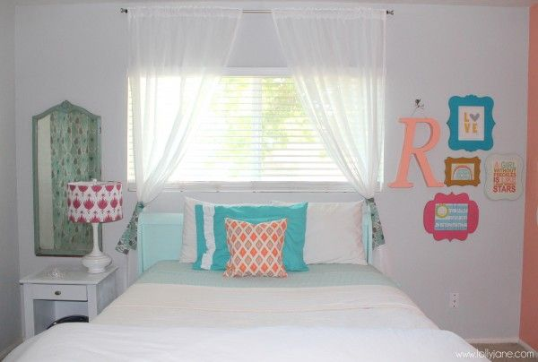 Coral Tween Girl Bedroom Tween Girl Bedroom Girls Bedroom Cute Bedroom Ideas