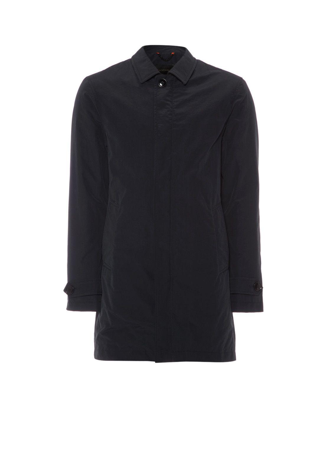 Alveare Lange jas Alastair in zwart • de Bijenkorf