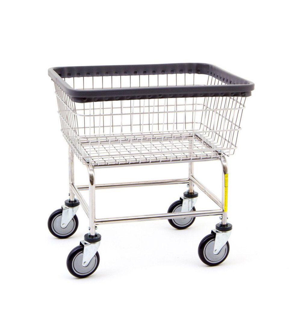 R B Wire Standard Laundromat Laundry Cart 2 50 Bu Laundry Cart