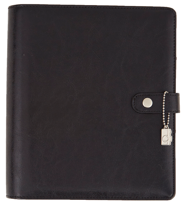 FREE SHIPPING - PREORDER - Black Carpe Diem Simple Stories Planner - A5 size planner