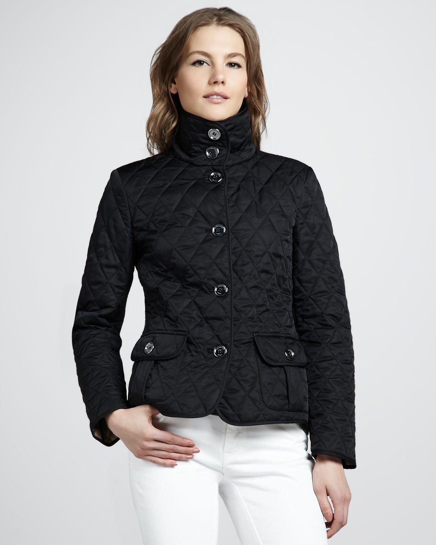 Http Ncrni Com Burberry Brit Highcollar Quilted Jacket P 5120 Html Quilted Jacket High Collar Burberry Brit