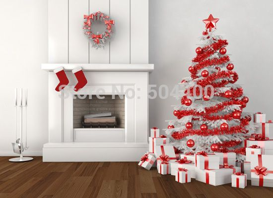 5x10ft Newborn Custom Photography Backdrops Prop Digital Printed Christmas day Photo Studio Background XT-115