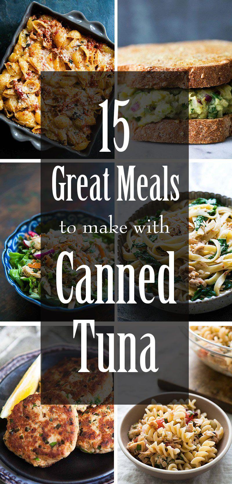 15 Awesome Recipes For Canned Tuna Tuna Patties Tuna Salad Tuna