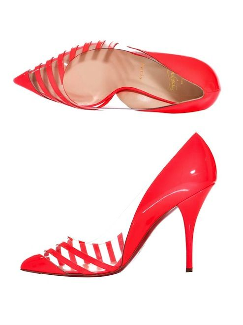 dd23a6926cc Louboutin Perspex Court Shoes