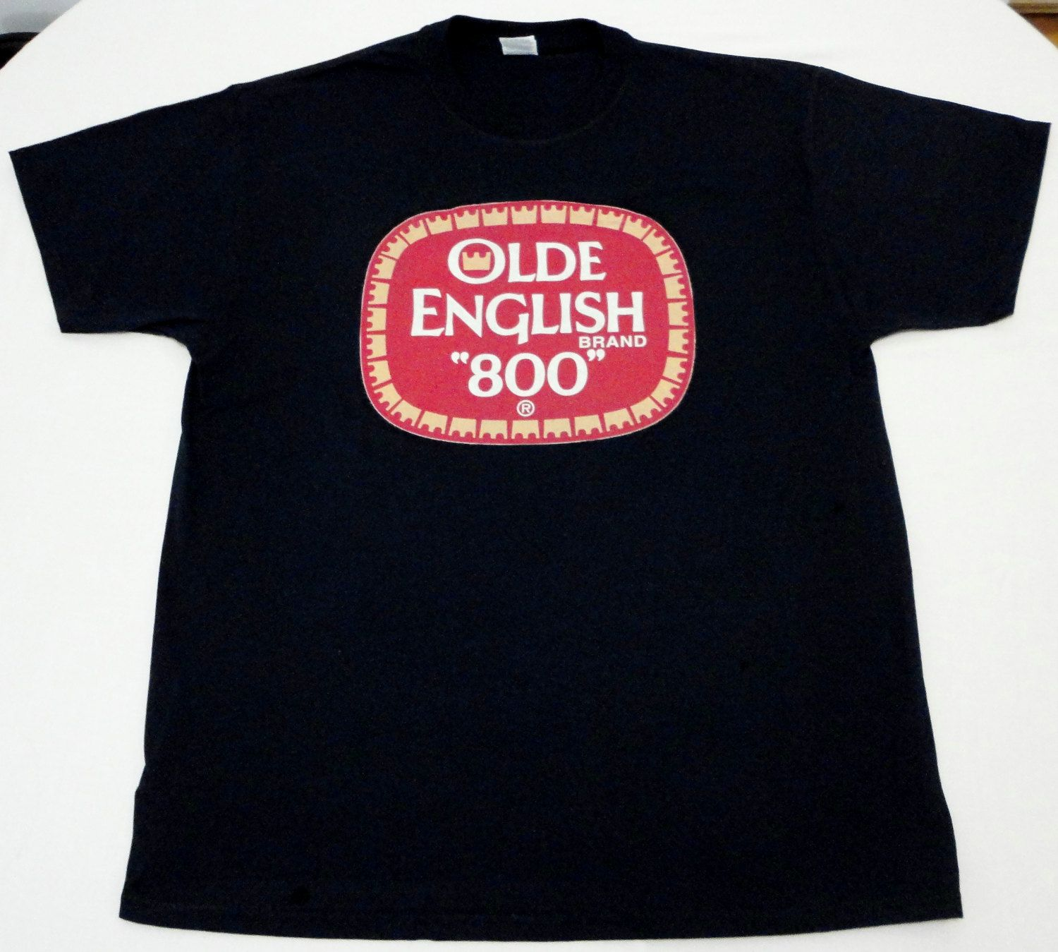 Black sabbath t shirt etsy - Old English 800 Beer T Shirt By Gonzotees On Etsy