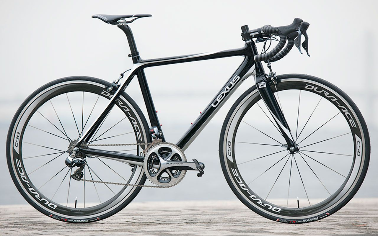 Lexus F SPORT Carbon Fiber Road Bike