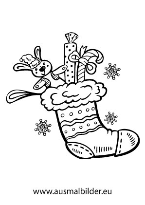 Ausmalbild Nikolaussocke Ausmalbilder Nikolaus Ausmalbilder Ausmalen