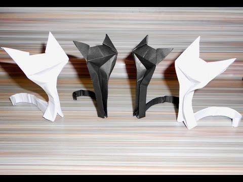 Как сделать оригами кошку. Оригами кошка схема. Как сделать из бумаги. Оригами кошка - это одно из наиболее популярных оригами из бумаги. Сделанная своими ру...