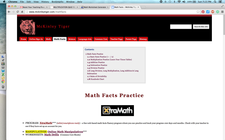 Luxury Websites To Practice Math Facts Elaboration - Worksheet Math ...