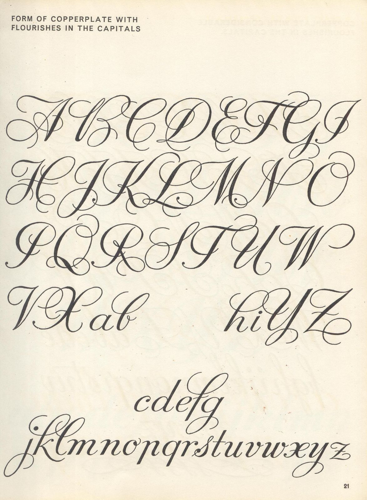 Sciptlettering P15 Copperplate Calligraphy Calligraphy Alphabet