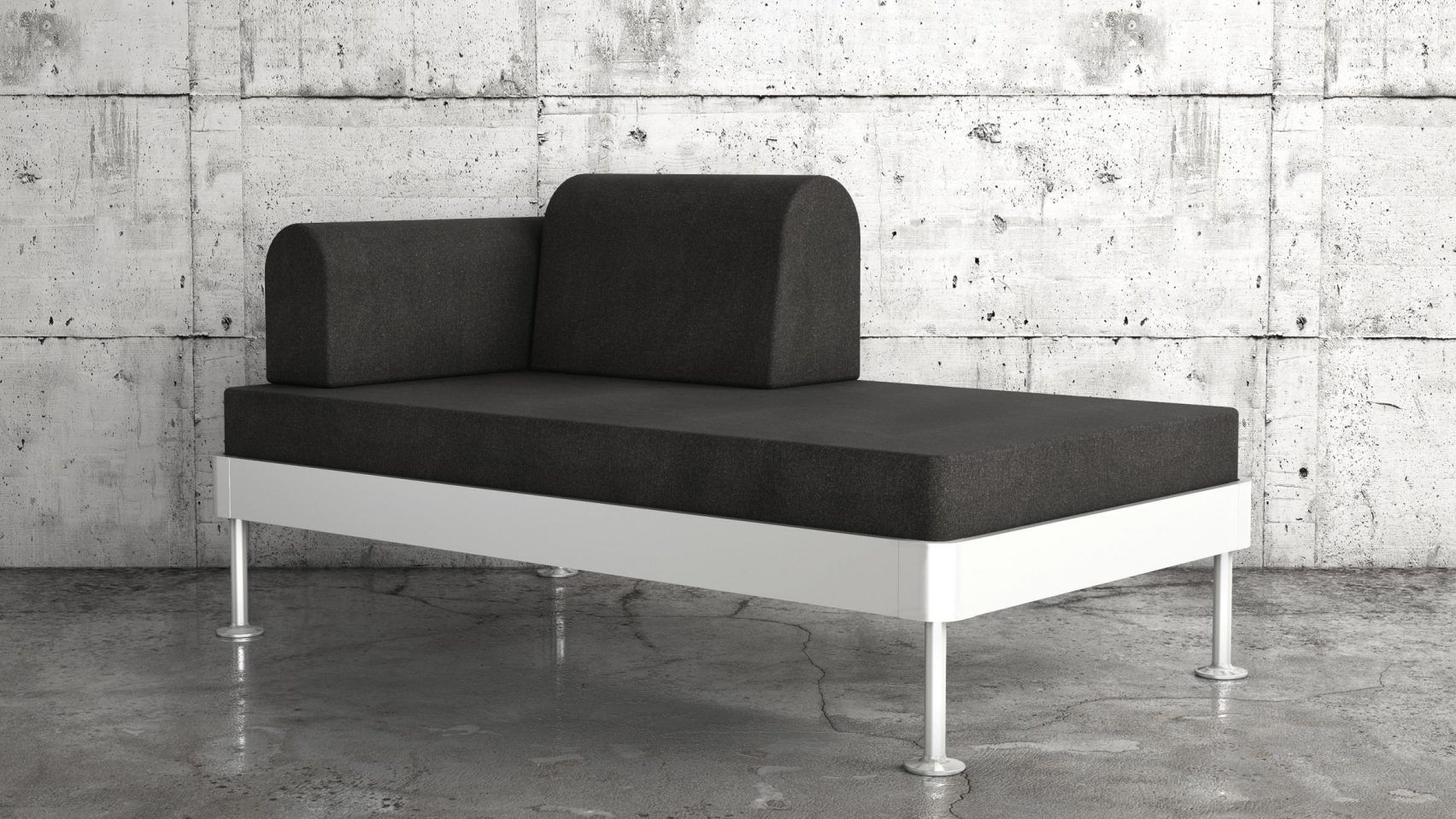reveals tom dixon's delaktig modular bed and sofa, Wohnzimmer dekoo