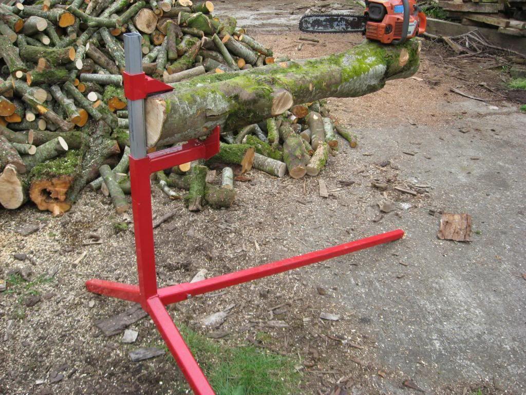 Cantilever log holder one for the chainsaw fetishists in 2018 firewood logging equipmemt - Support pour couper du bois ...