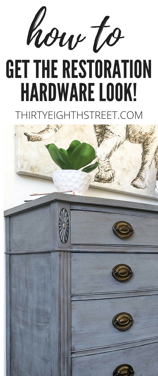 How To Create A Restoration Hardware Faux Finish #restorationhardware