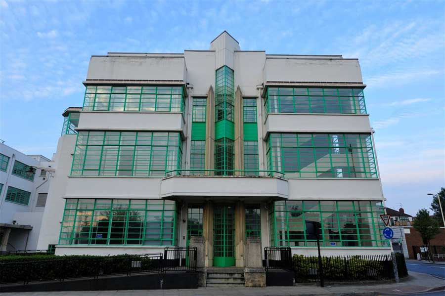 gillette building brentford west london uk 1930s sir banister fletcher nostalgia nuggets pinterest hoovers factories and building art deco office building