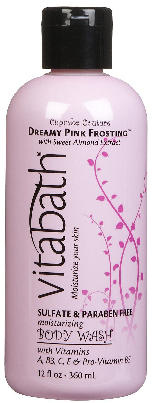 Vitabath Cupcake Collection Body Wash, Dreamy Pink Frosting ...