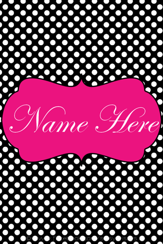 2.50 Personalized with your name, initial, monogram, or