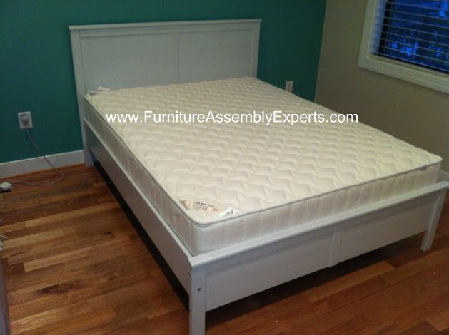 ikea aspelund bed frames assembled in washington dc by furniture assembly experts company - White Ikea Bed Frame