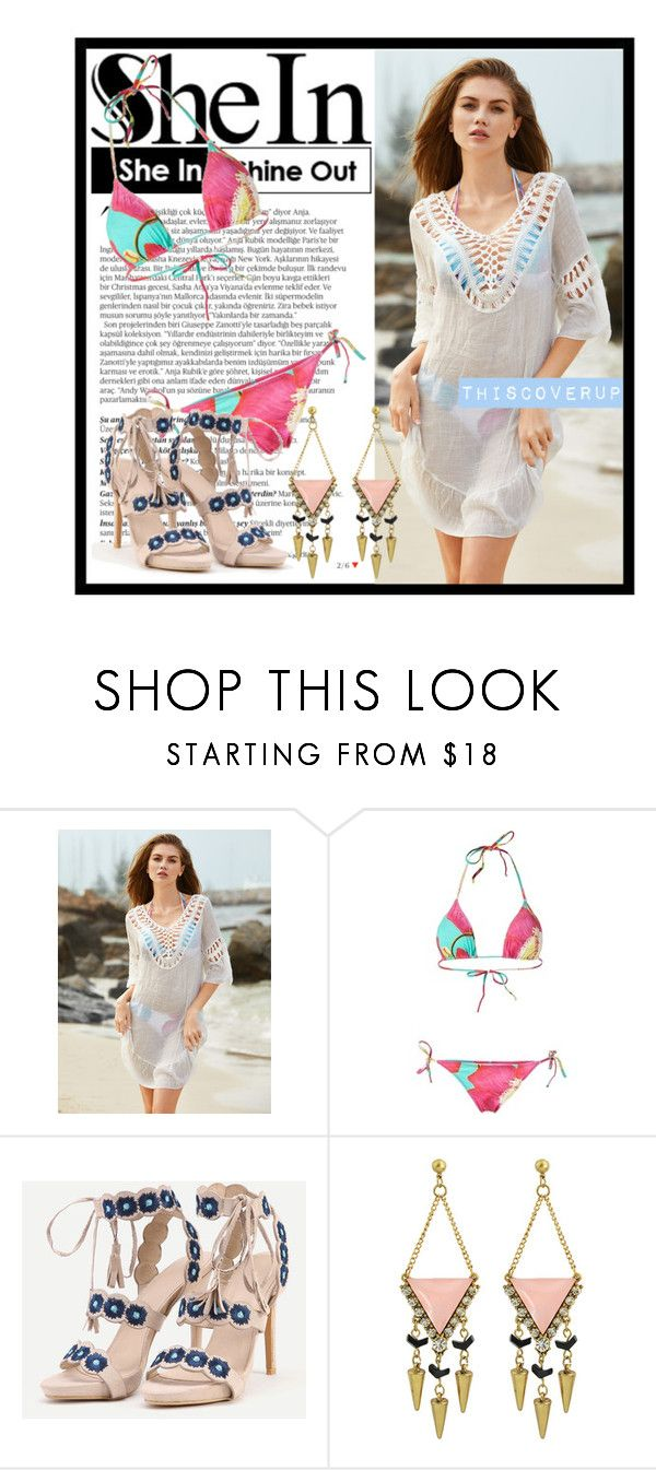 """""""516. SheIn"""" by diana97-i ❤ liked on Polyvore featuring Balmain and Isolda"""