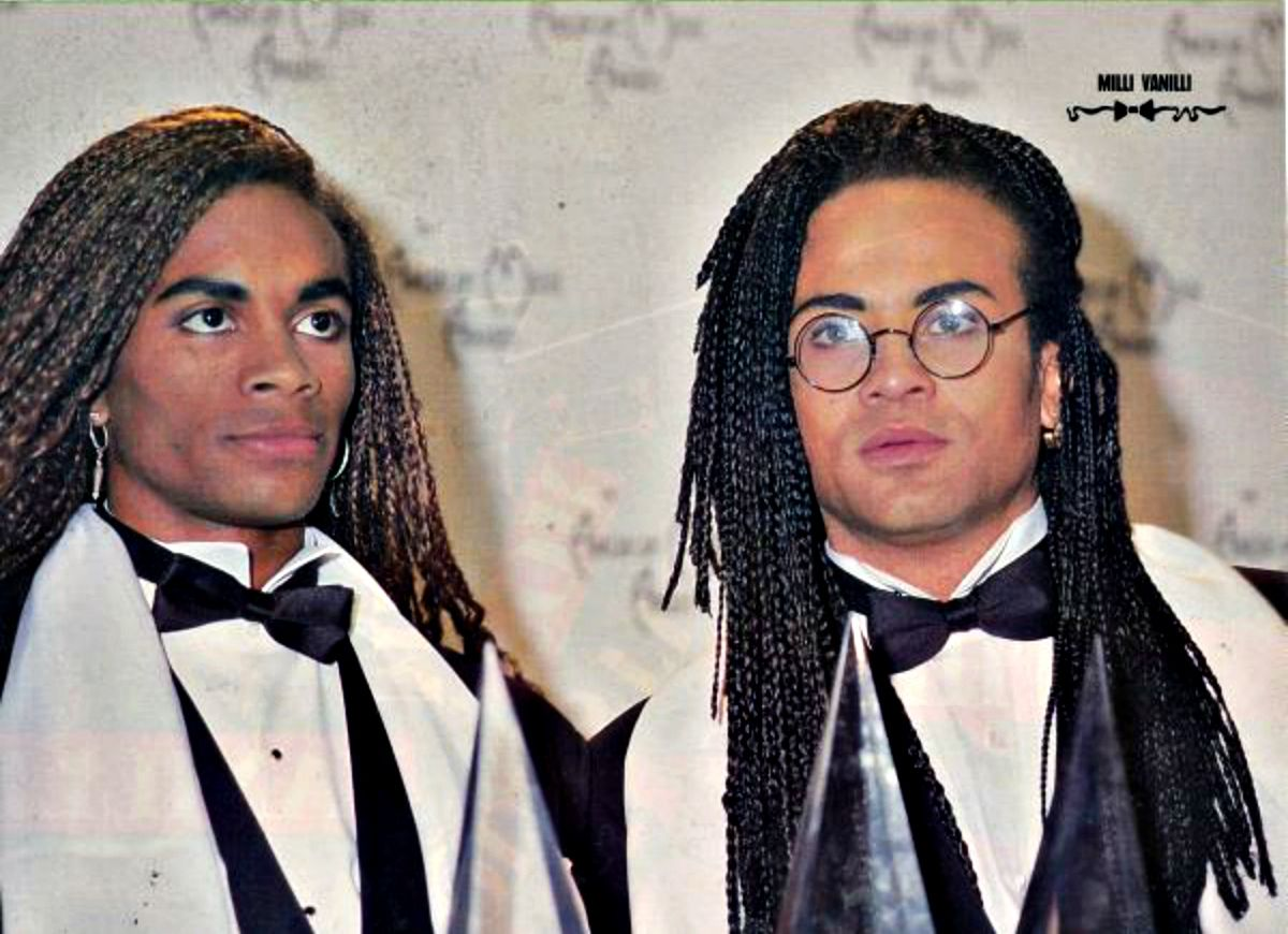 MILLI VANILLI pinup - BABY DON'T FORGET MY NUMBER KEEP ON ...
