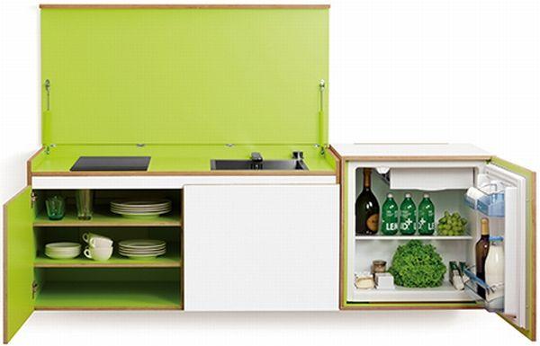 Miniki Compact Modular Kitchen System  Kitchen  Pinterest Cool Compact Modular Kitchen Designs Design Decoration