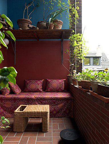 Arredare piccoli terrazzi salotto desain2 pinterest for Arredare terrazzi piccoli