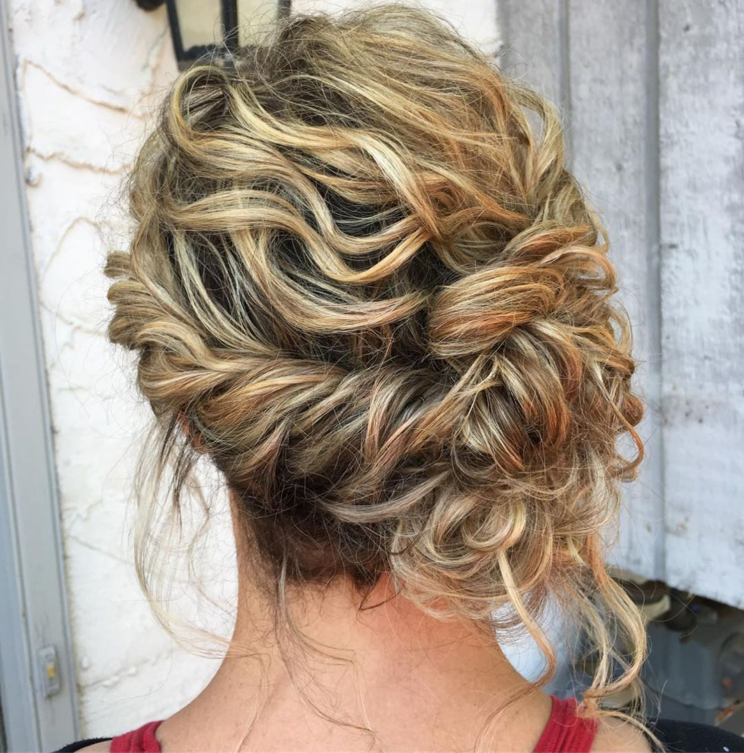 60 trendiest updos for medium length hair with images