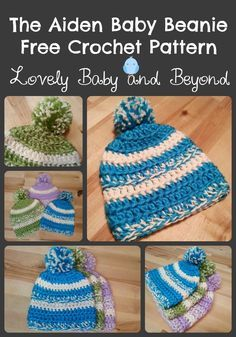 Free Baby Hat Pattern by Lovely Baby and Beyond