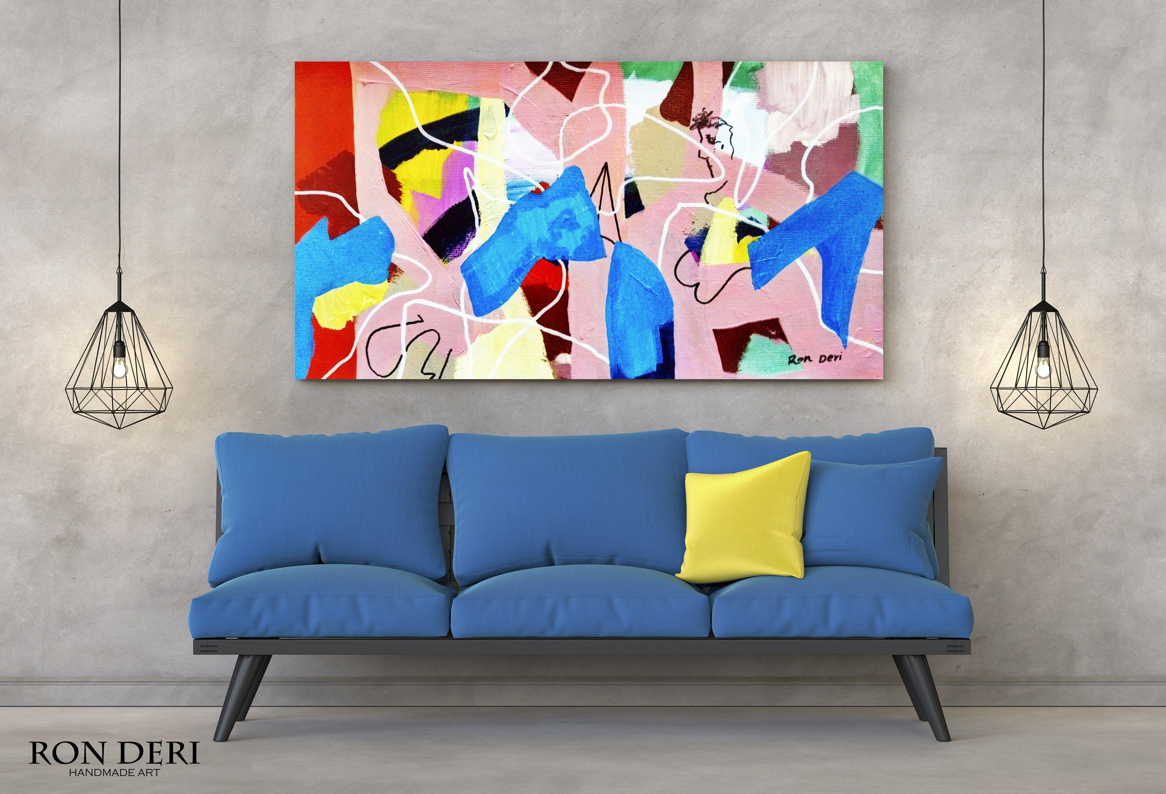 modern art contemporary art Original Abstract Oil Painting modern style wall art interior decor home decor