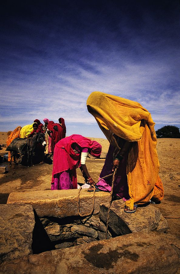 Women at Work, Jaiselmer, India by Gerald Gay, via 500px