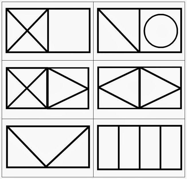 Vormkaarten 3-7 | Geometrické tvary | Pinterest | Diario, Figuras ...