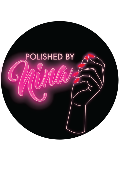 Polished by Nina in 2020 Logo design, Neon light signs