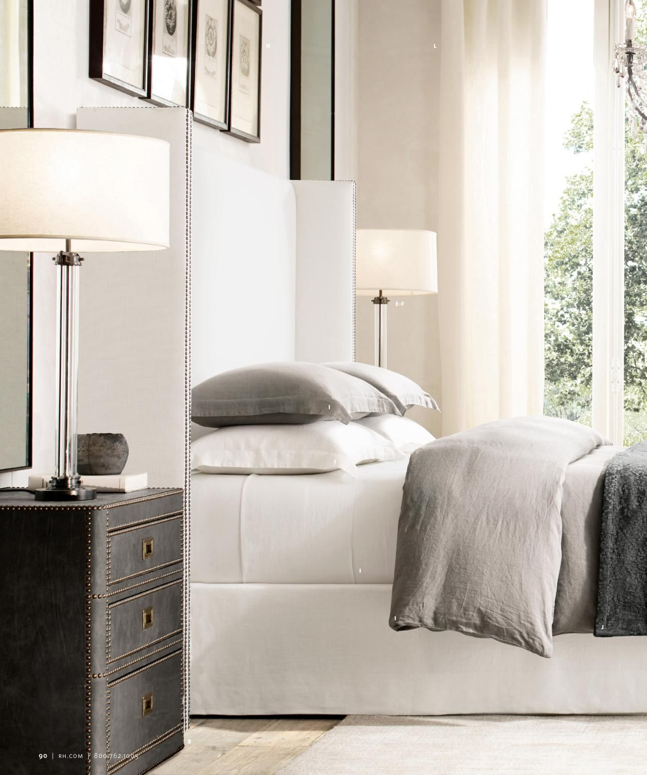 Rh source books bedroom in pinterest bedroom bed and