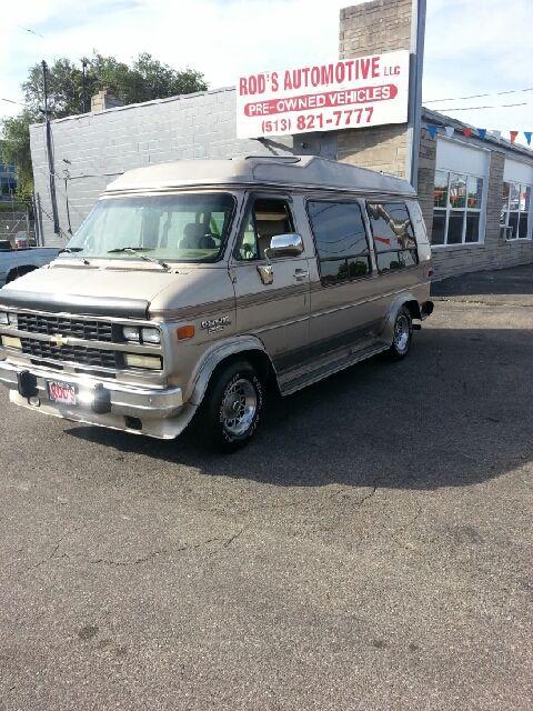 1994 Chevrolet G20 Chevy Van Custom Vans Gmc Vans