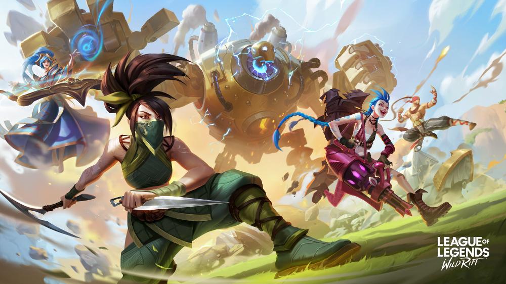 Artstation League Of Legends Wild Rift Keyart Roanna Peroz League Of Legends Fantasy Illustration Play League Of Legends