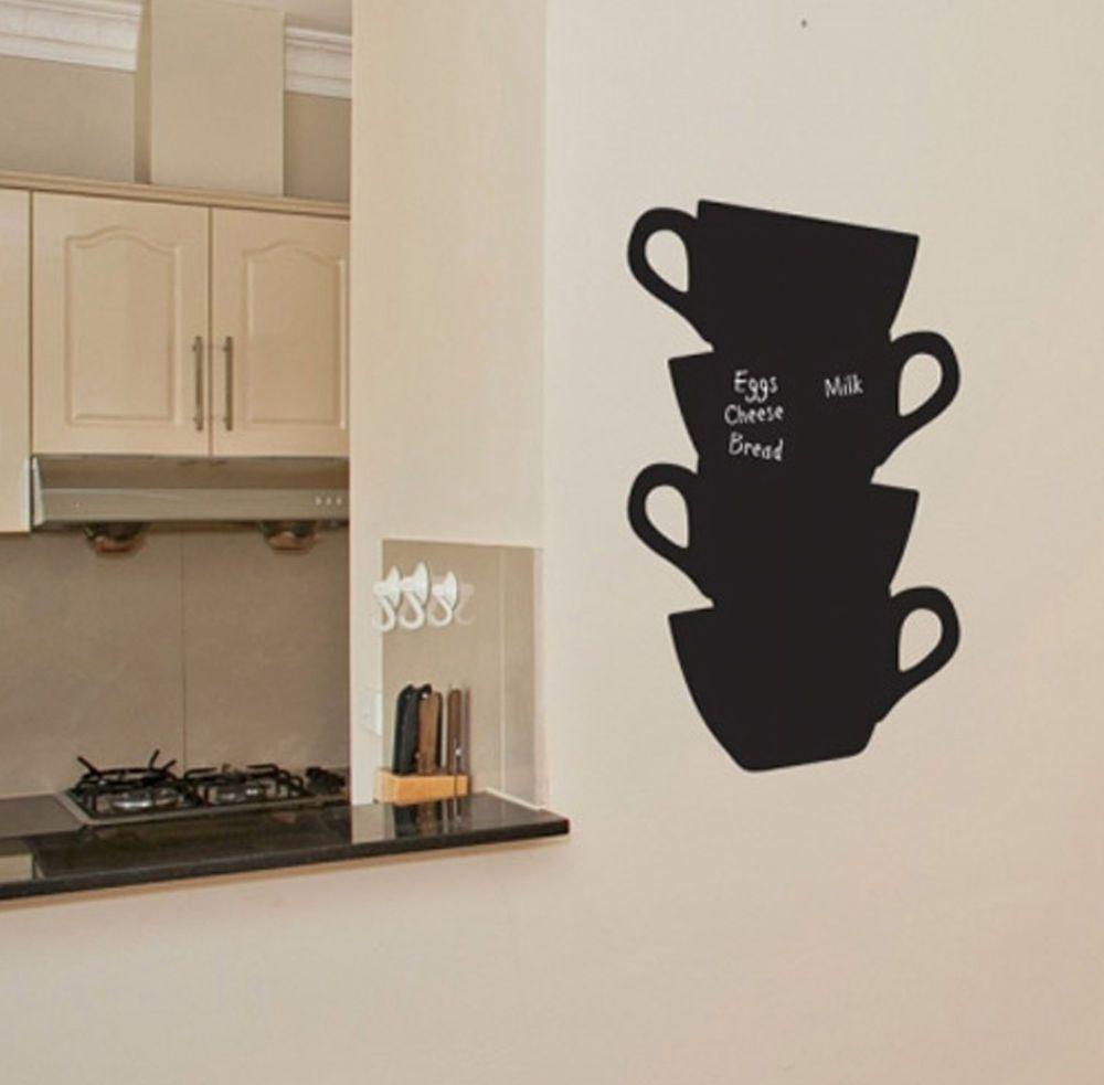 Cup Shape Wall Chalkboard