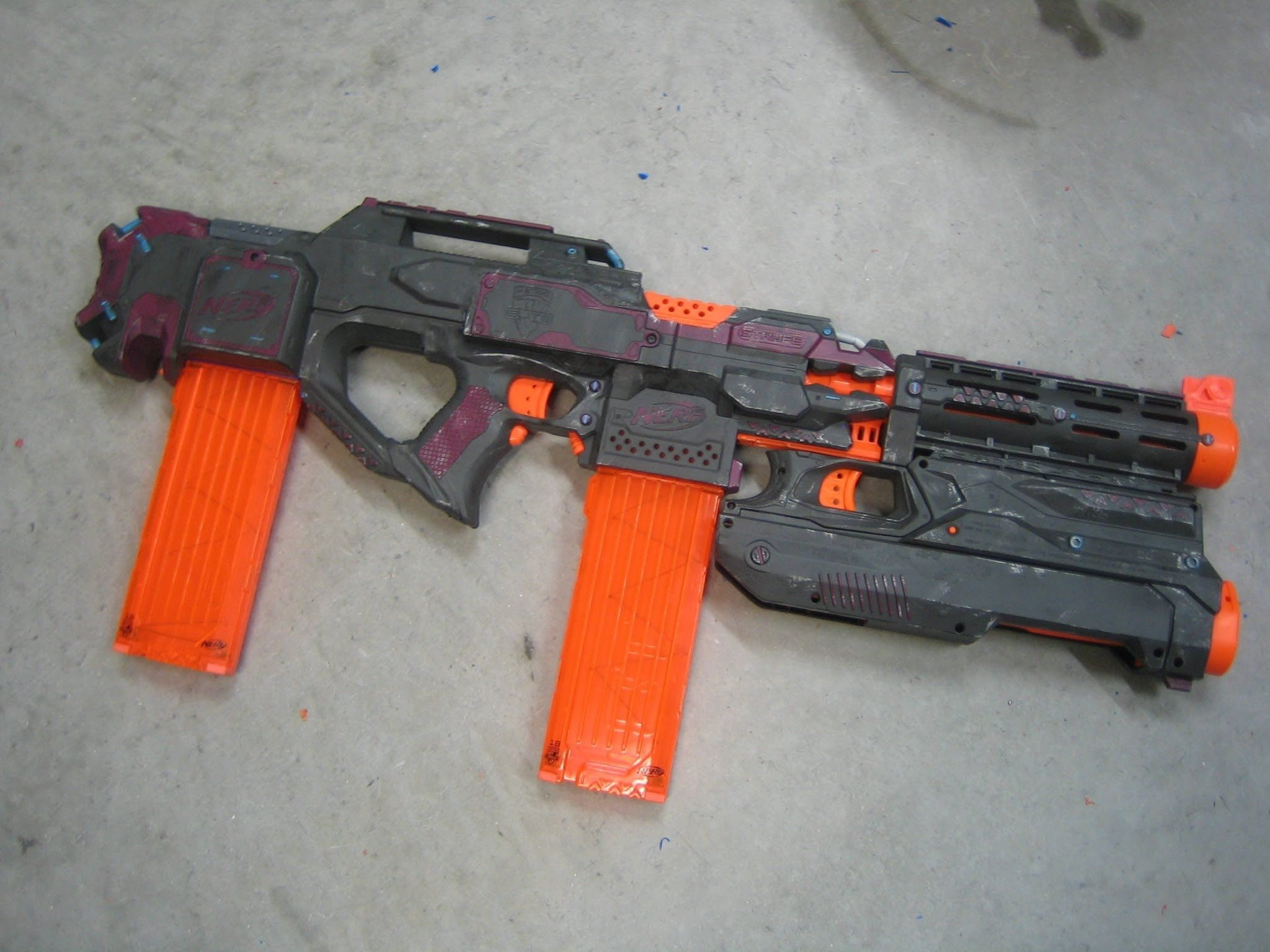 Custom Star Wars Blaster Pistol prop Nerf Gun by firebladecomics ...