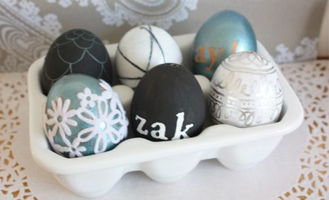EASTER: 5 ways to decorate eggs