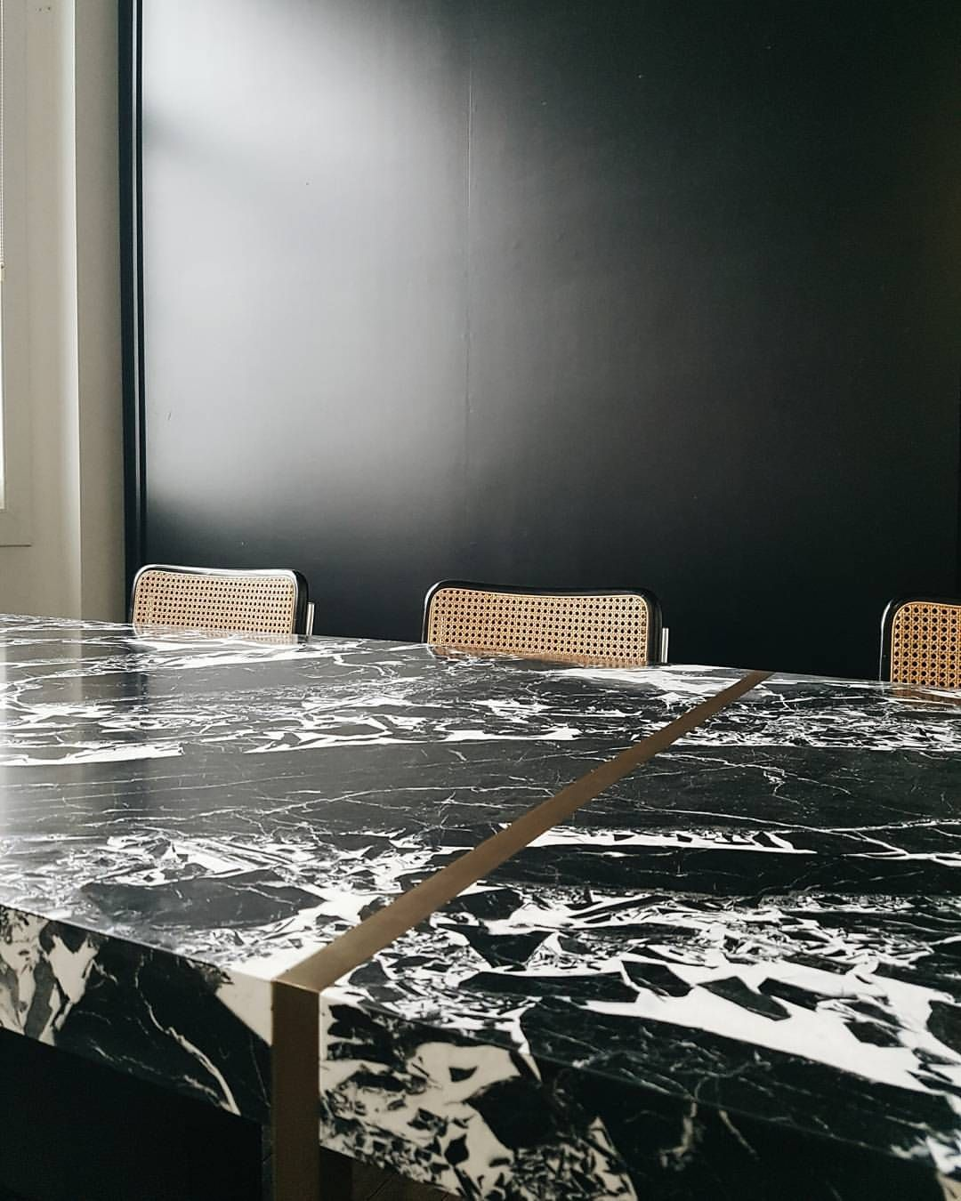 """""""NERO"""" Dining Table by Dieter Vander Velpen Architects"""