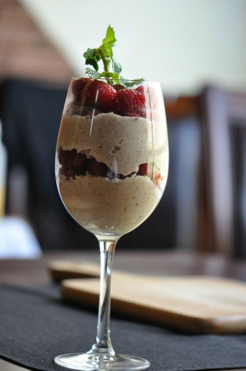 A berry-topped parfait is the perfect aphrodisiac starter for a #brunch together. Layer granola and libido-boosting raspberries in a cocktail glass for a sexy touch | YourTango