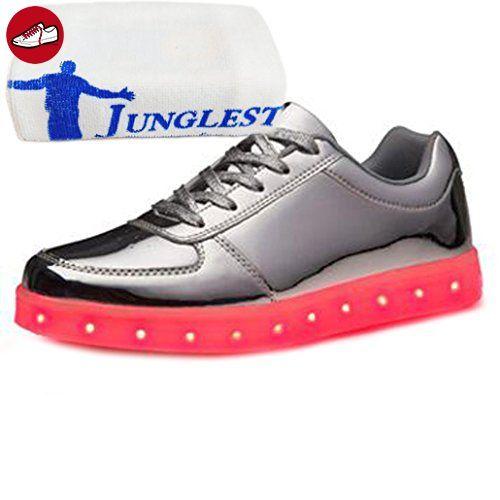 (Present:kleines Handtuch)Schwarz EU 41, Damen High Sneakers JUNGLEST® Leuchtend Farbw