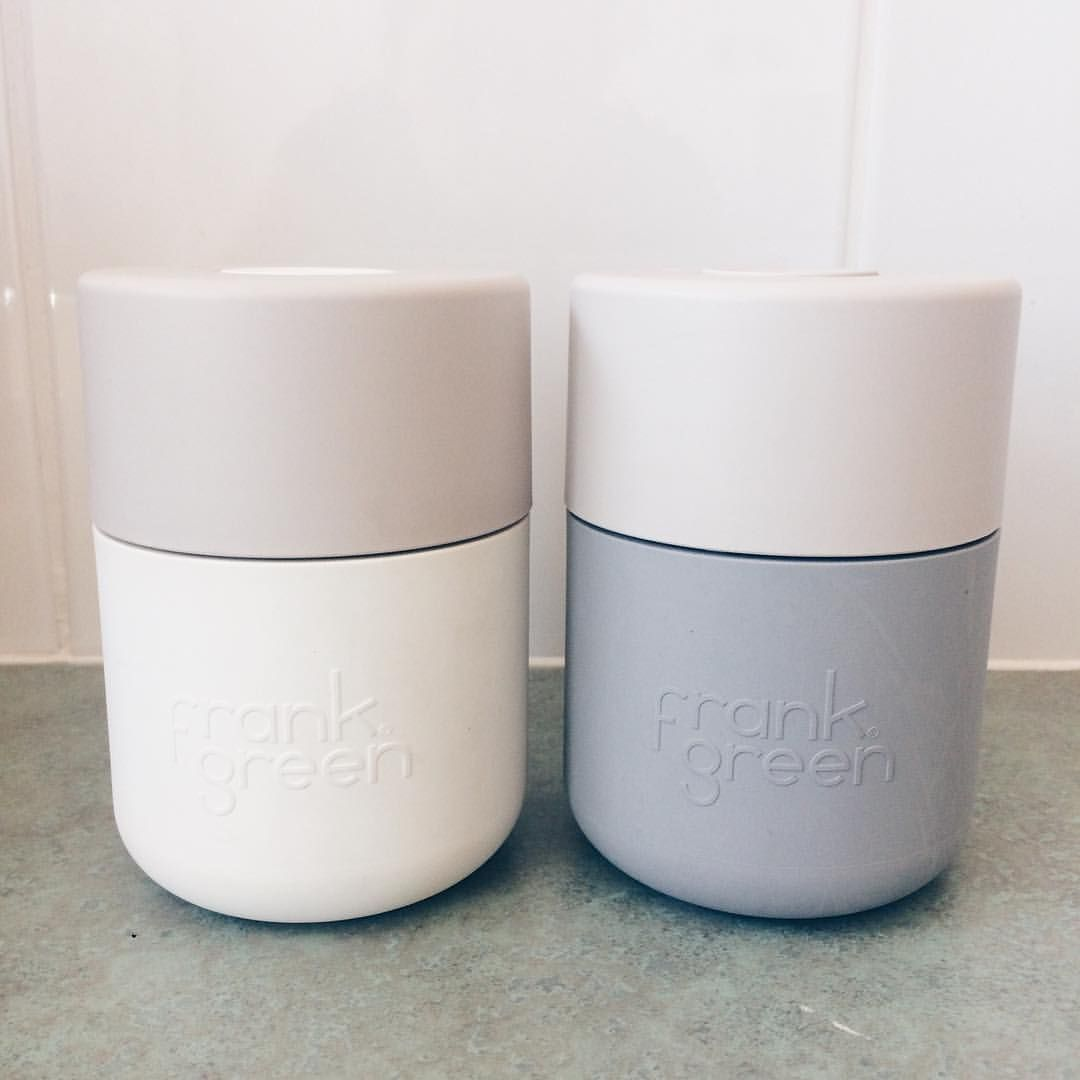 Reusable Coffee Cups From Frank Green Zerowastenewcastle Green Cups Reusable Coffee Cup Coffee Market