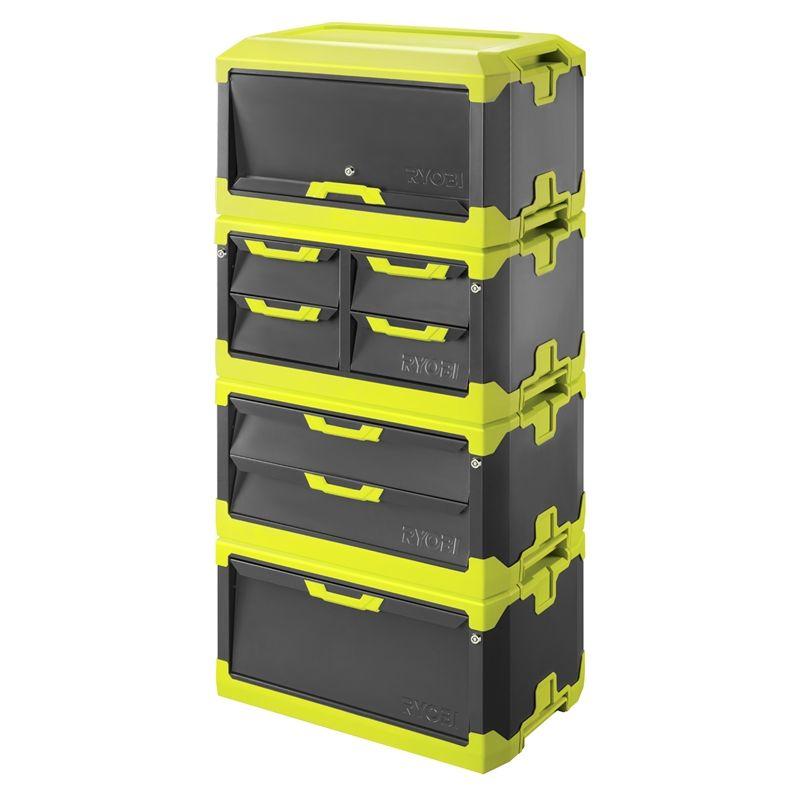 Ryobi Tool Blox Storage Combo - 4 Pc | ryobi tool in 2019 | Ryobi