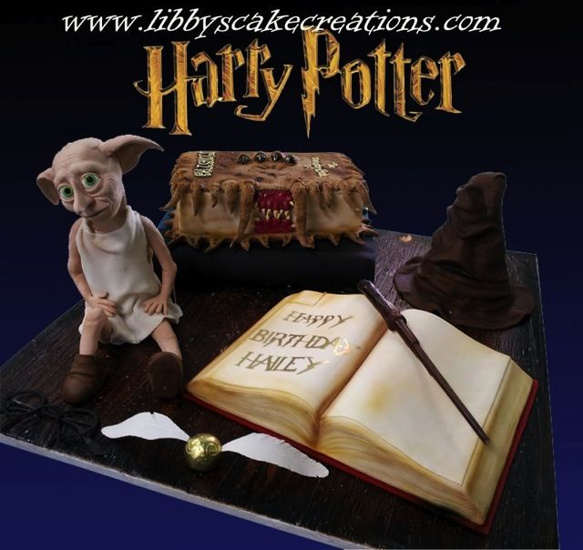 Harry Potter Cake Made By Libby S Cake Creations