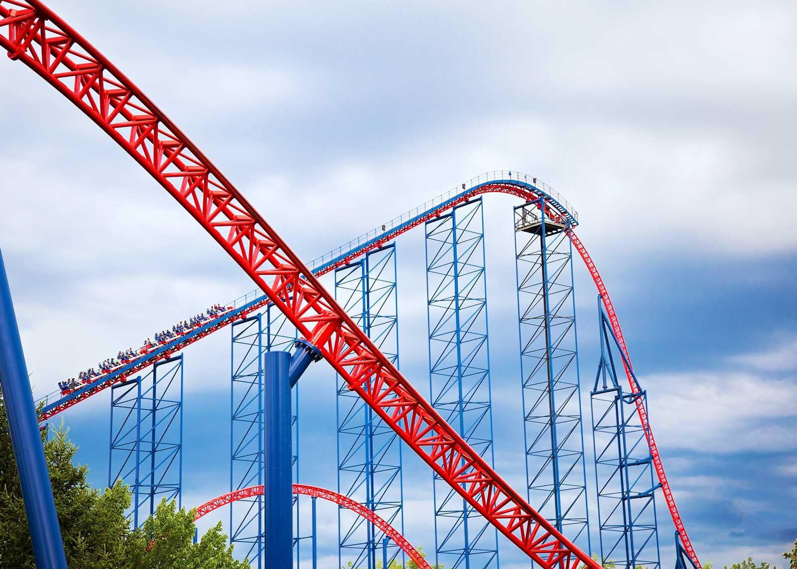 Roller Coaster Png Transparent